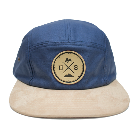 NY Compas 5 pannel Hat - Cabin Fever Outfitters