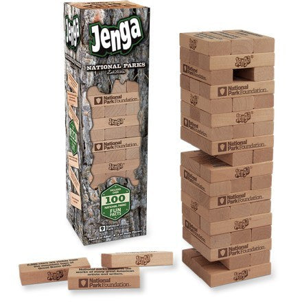 JENGA - NATIONAL PARKS - Cabin Fever Outfitters
