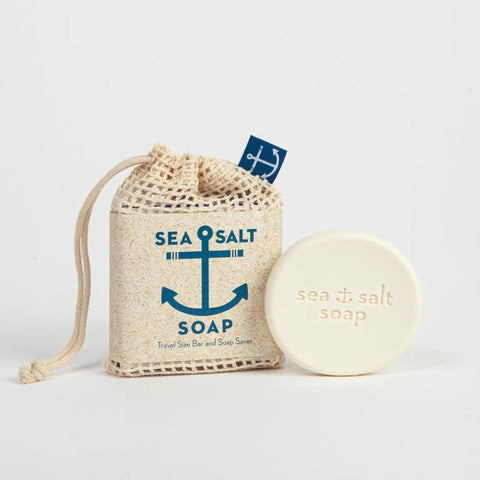 Kalastyle - Swedish Dream Sea Salt Soap Travel Size Bar & Soap Saver - Cabin Fever Outfitters