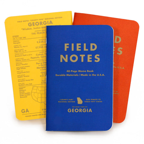 Field Notes - County Fair 3-Packs