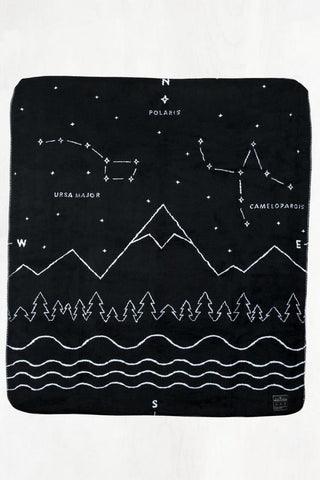 United by Blue  Wool Fleece Throw Blanket - Cabin Fever Outfitters