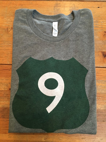 Route 9 T-Shirt - Cabin Fever Outfitters