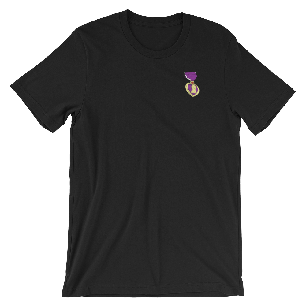 Purple Heart Awesome Scars T-Shirt