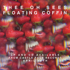 Thee Oh Sees - Floating Coffin Poster