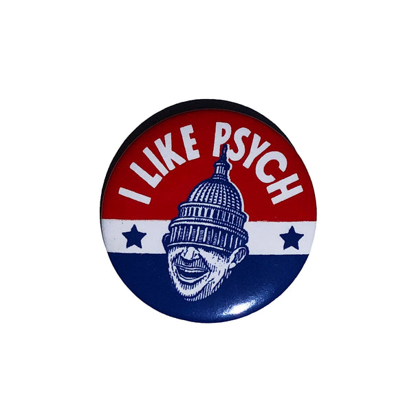 I Like Psych Pin