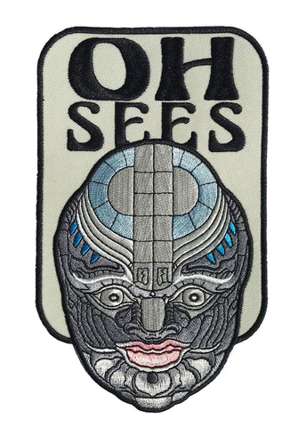 "Oh Sees Permafrost Predator 7"" Patch"