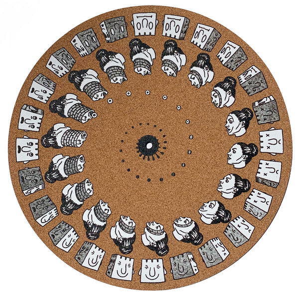 Castle-Face Slipmat #1