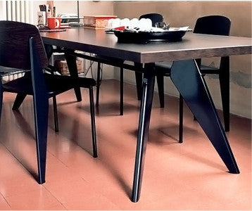 Vitra Mid Century Modern Jean Prouve Em Table 1950 At