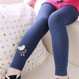 Summer & Autumn Baby Girls Skinny Leg Leggings