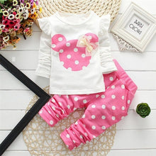 Load image into Gallery viewer, Baby Girls Clothing Sets / Top & Leggings 3M-24M