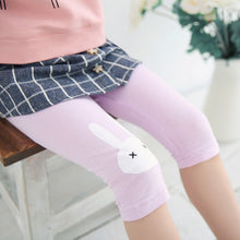 Load image into Gallery viewer, Summer Collection Rabbit Knee Length Leggings