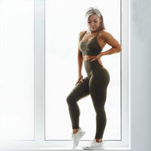 Load image into Gallery viewer, Seamless Spandex  High Waist Fitness Leggings in 5 Color