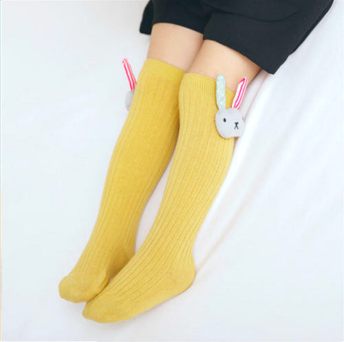 Cute Baby Girl Knee High Stocking Socks