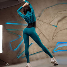 Load image into Gallery viewer, One-Piece Fitness Set These Jumpsuits Is Perfect For Any Workout