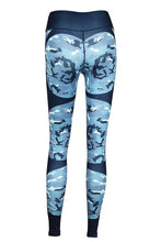 Load image into Gallery viewer, High Waist Fitness Legging Heartbeat Print Fashion Push Up
