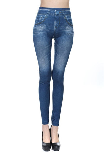 Stylish Denim Slim Leggings New Design for Women