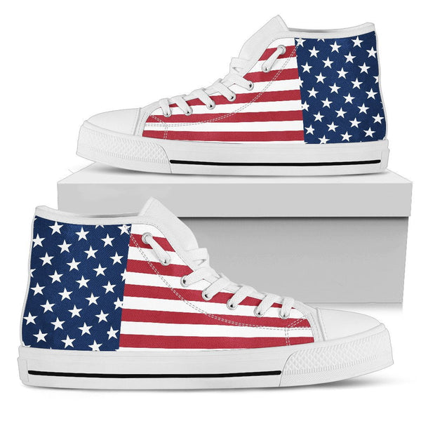 Great America High Top Shoes - DonaldTrumpStoreUSA_com