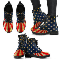 Great America Leather Boots - DonaldTrumpStoreUSA_com