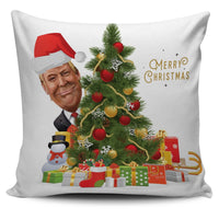Trump Christmas Pillow Cover - DonaldTrumpStoreUSA_com
