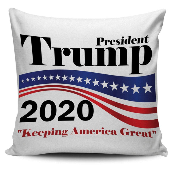 Trump 2020 Pillow Cover - DonaldTrumpStoreUSA_com