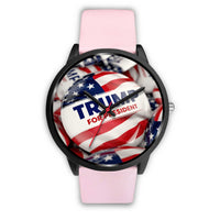 Trump Button Watch - DonaldTrumpStoreUSA_com