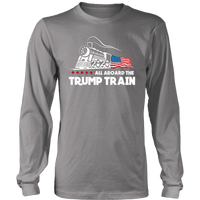 Trump Train Unisex Long Sleeve Shirt - DonaldTrumpStoreUSA_com