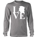 Love Trump Unisex Long Sleeve Shirt - DonaldTrumpStoreUSA_com