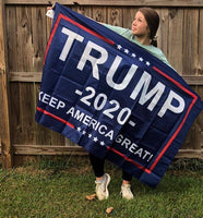 Trump 2020 Keep America Great 3x5 Flag - DonaldTrumpStoreUSA_com