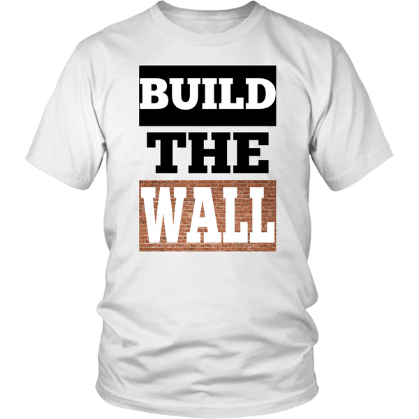 Build The Wall Unisex T-Shirt - DonaldTrumpStoreUSA_com