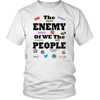 Enemy Of People Unisex T-Shirt - DonaldTrumpStoreUSA_com