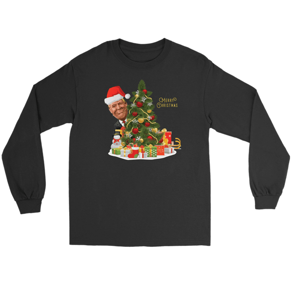 Trump Christmas Long Sleeve T-Shirt - DonaldTrumpStoreUSA_com