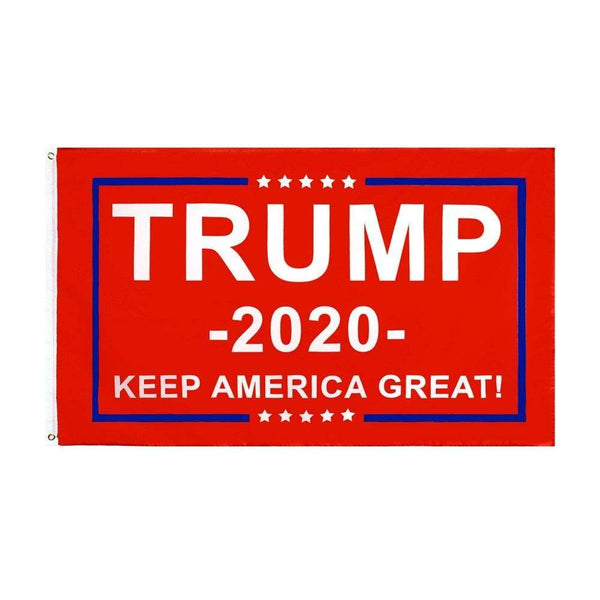 Trump 2020 Keep America Great Red 3x5 Flag - DonaldTrumpStoreUSA_com