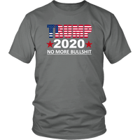 Trump No More BS Unisex T-Shirt - DonaldTrumpStoreUSA_com