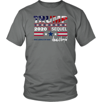 Trump 2020 The Sequel Unisex T-Shirt - DonaldTrumpStoreUSA_com