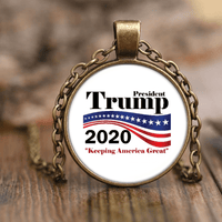 Trump 2020 Necklace - DonaldTrumpStoreUSA_com