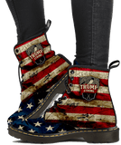 Trump Strong Womens Leather Boots - DonaldTrumpStoreUSA_com