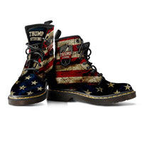 Trump Strong Mens Leather Boots - DonaldTrumpStoreUSA_com