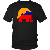 Trump Hair On Elephant Unisex T-Shirt - DonaldTrumpStoreUSA_com