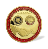 Trump/Kim Jong Commemorative Summit Coin - DonaldTrumpStoreUSA_com