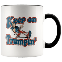 Keep On Trumpin Accent Mug - DonaldTrumpStoreUSA_com