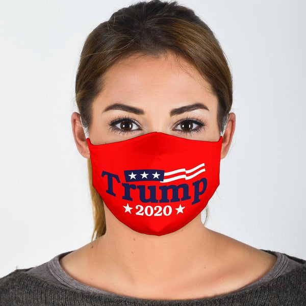 Trump 2020 Red Face Mask - DonaldTrumpStoreUSA_com