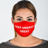 Keep America Great Face Mask - DonaldTrumpStoreUSA_com