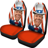 Trump Uncle Sam Car Seat Covers - DonaldTrumpStoreUSA_com