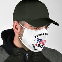 Promises Made Promises Kept Face Mask - DonaldTrumpStoreUSA_com