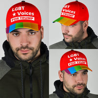 LGBT Voices For Trump Limited Edition Cap - DonaldTrumpStoreUSA_com