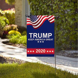 Trump 2020 Keep America Great Garden Flag - DonaldTrumpStoreUSA_com