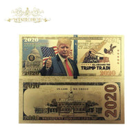 New 2020 Trump Train Banknotes 10pcs - DonaldTrumpStoreUSA_com