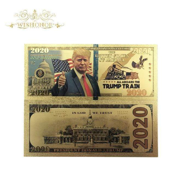 New 2020 Trump Train Banknote - DonaldTrumpStoreUSA_com