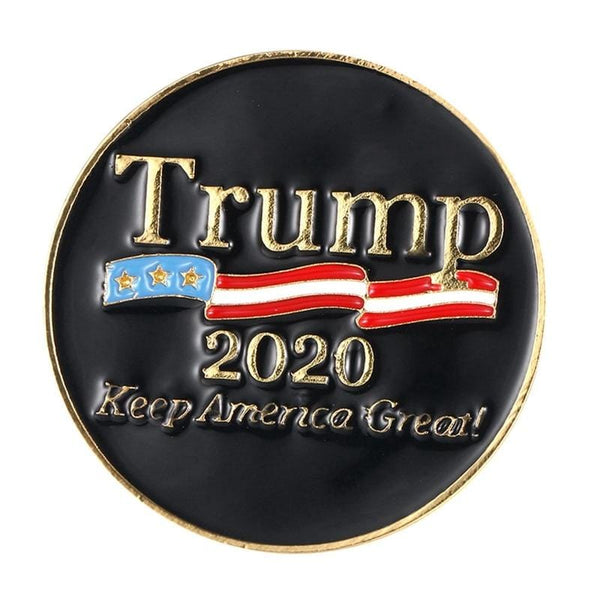 Trump 2020 Keep America Great Lapel Pin - DonaldTrumpStoreUSA_com