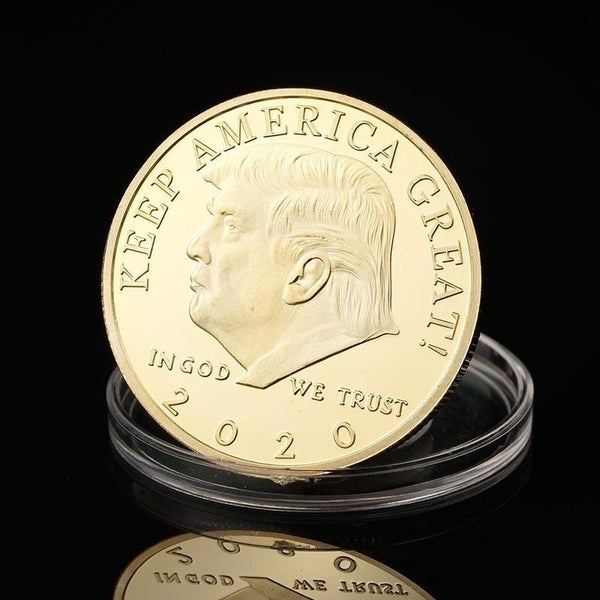 2020 Donald Trump Keep America Great Coin - DonaldTrumpStoreUSA_com